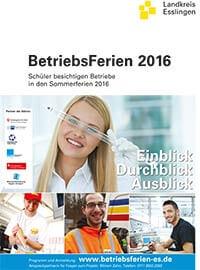 Plakat zur Aktion BetriebsFerien 2016