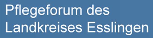 Pflegeforum des Landkreises Esslingen