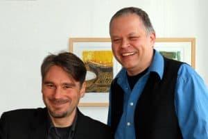 Harald Kother und Matthias Pätzold, Veranstalter der Kulturreisemesse Ludwigsburg
