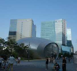 Digital Media City in Seoul, Korea