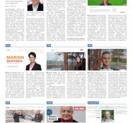 Lahrer Zeitung: Online-Check der Wahlkreis-Kandidierenden