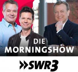 Holger Hagenlocher bei der SWR3-Morningshow